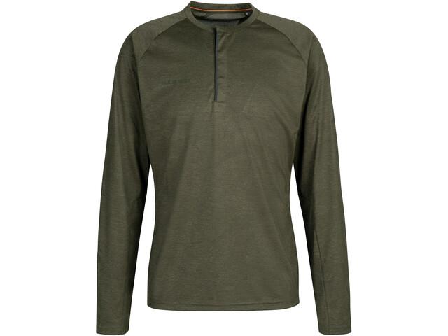 Mammut Crashiano Longsleeve Shirt Men, iguana melange